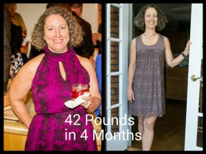 Cindy Clough Before and After with Text 6-27-14