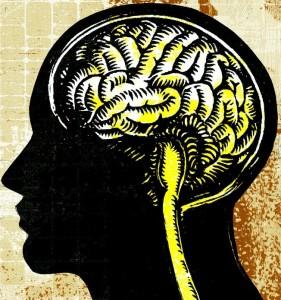 Insomnia Brain Side View