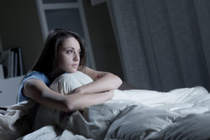 Woman Insomnia Adrenal Fatigue