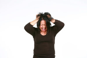 Stressed Woman Adrenal Fatigue