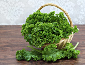 Kale in a Basket-Time Restricted Eating